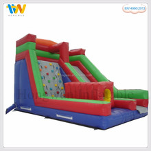 Hard-wearing quality cheap inflatable water slide amusement park rides slip slide for adult