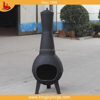 Patio sense Chiminea/cast iron chiminea/BBQ oven