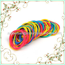 32MM White Color Rubber Band , 100% Rubber Solid Color Rubber Band , Rubber Band For Sale