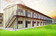 2 dormitorios prefab homes, casa prefabricada para el dormitorio, prefabricada temporal de construcción modular
