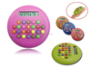Hairong mini electronic calculator chocolate bean 8 Digits calculator with four colors calcualtor gift