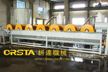 PP PE waste plastic film recycling washing granulating pelletizing line