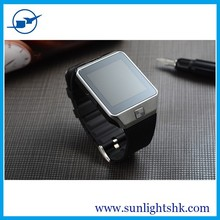 "$25/pc--cheapest factor price for DZ09 SIM Card Smart Watch Phone 1.56"" TFT 128M 64M ROM Bluethooth 3.0 Wrist Phone Watch"