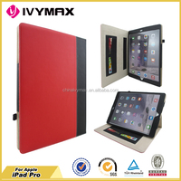 Factory wholesale leather tablet case for ipad pro