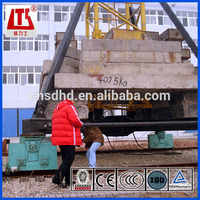 8t lifting capacity tower crane mobile tower crane QTZ80A
