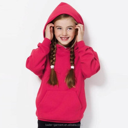 Kids Pullover Jersey Hoody Girls Long Thick Winter Hoody