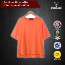 Pure color sleeve T-shirt at five big yards of xxxl sex women t shirt