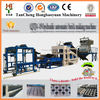 The hottest type for QTJ4-18 concrete hollow block, solid brick,interlocking paver making machine with reasonable price