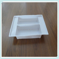 Disposable,Eco-Friendly,Stocked Feature and Dishes & Plates Dinnerware Type BIODEGRADABLE Plastic CLAMSHELL FOOD CONTAINERS