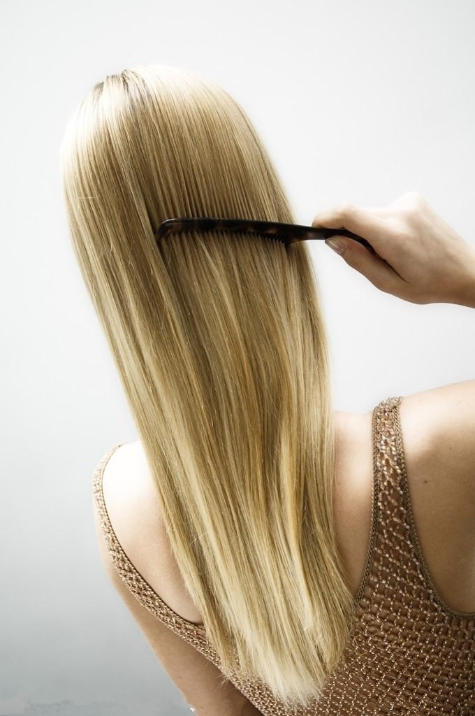 Hot Silky Straight Brazilian Hair Weave Blond Hair Extensions For
