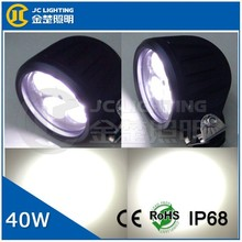 auto lamp 12v 10w led auxiliary lights, 40w round waterproof truck led tail light for Toyota, Kenworth, rowing boats used