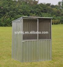 Pre-painted color coated innovative wire gate modular homes shed of home and garden