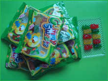 bear shape chewing gummy jelly candy
