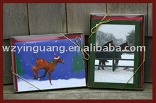 Photographic gift cards for collection