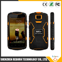 mtk6582 quad core rugged mobile phone , 5 inch waterproof cell phone
