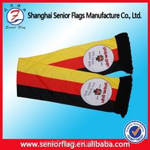 Football team scarf, football fan scarf made of acrylic printed by digital