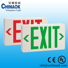 High Brightness SMD5050 LED Fire Emergency Exit Sign with Two Years Warranty