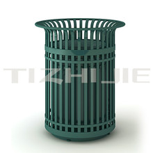 Wholesales Cast Iron Recycling trash outdoor dustbin for school