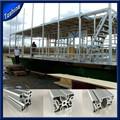 Construção de barcos de alumínio