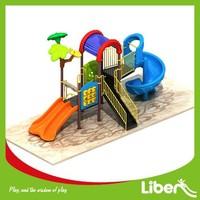2015 Newest Design Children Outdoor Playset Playground Equipment with Spiral Slide