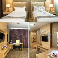 Wooden hotel bedroom furniture (FLL-012) made by ISO9001 certified maufacturer