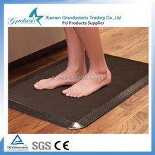 Decorative PU Waterproof Anti Fatigue Comfort Kitchen Mat for Home Floor