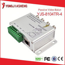 Shenzhen security video balun transformer simple installation