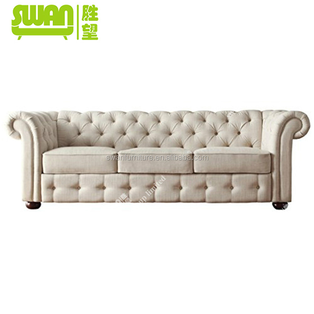 5048 3 Classic Leather Chesterfield Sofa White Buy