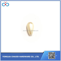 ABS plastic rice shape pearl bead with or without hole pearl