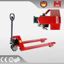high quality hand pallet truck trolley warehouse 1~2ton capacity hydraulic stacker