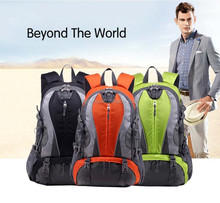 Brand Wholesale !!! 2015 Waterproof outdoor men and women high quality travel backpack bags for hiking and camping