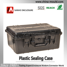 plastic equipment case with handle size 279x199x122mm