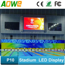 Indoor swimming pool LED Display Board, P10 LED large screen display