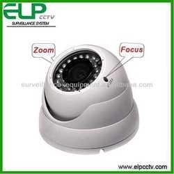 zoom and focus adjustable vandal-proof dome 1/3 sony ccd 1000tvl ir cctv camera ELP-580VD