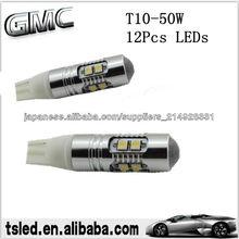 Hottest T10 llevó las luces para el interior del lamps del lado del car auto LED