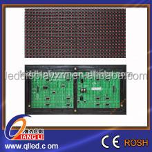 high brightness p10 outdoor single color led module