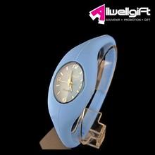 silicone watch/Jelly Silicone Rubber Sports Bracelet Wrist Watch