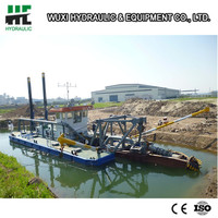 River sand pump suction dredger with competitive price
