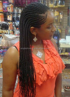 stock new fashion very long african american synthetic braided lace wig