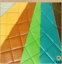 synthetic leather decorative vacuum car pvc leather for sofa upholstery