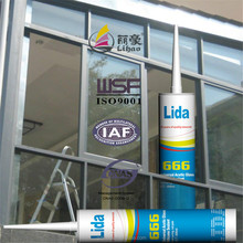 both industrial and construction usage, in-door decoration silicone sealant