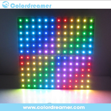 rgb led panel light dmx control slim led panel for stage decoration,300*300mm square rgb led panel
