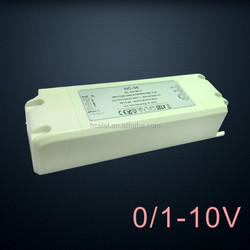 36w no stroboflash 0-10v dimming led driver with constant current output