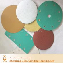 high quality aluminum oxide velcro disc for polishing sandpaper disc