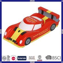 China manufacture kids gift pu foam toy/ pu sports car
