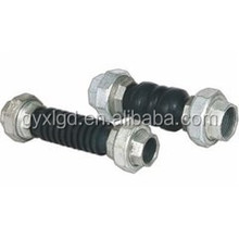 China Supplier Galvanized Double Sphere Threaded Pipe Rubber Joint