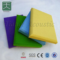 Acoustic panel for walls cinema waterproof soundproof material