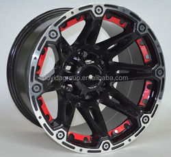 Lowest price replica wheel, SUV 4X4 alloy wheel rim