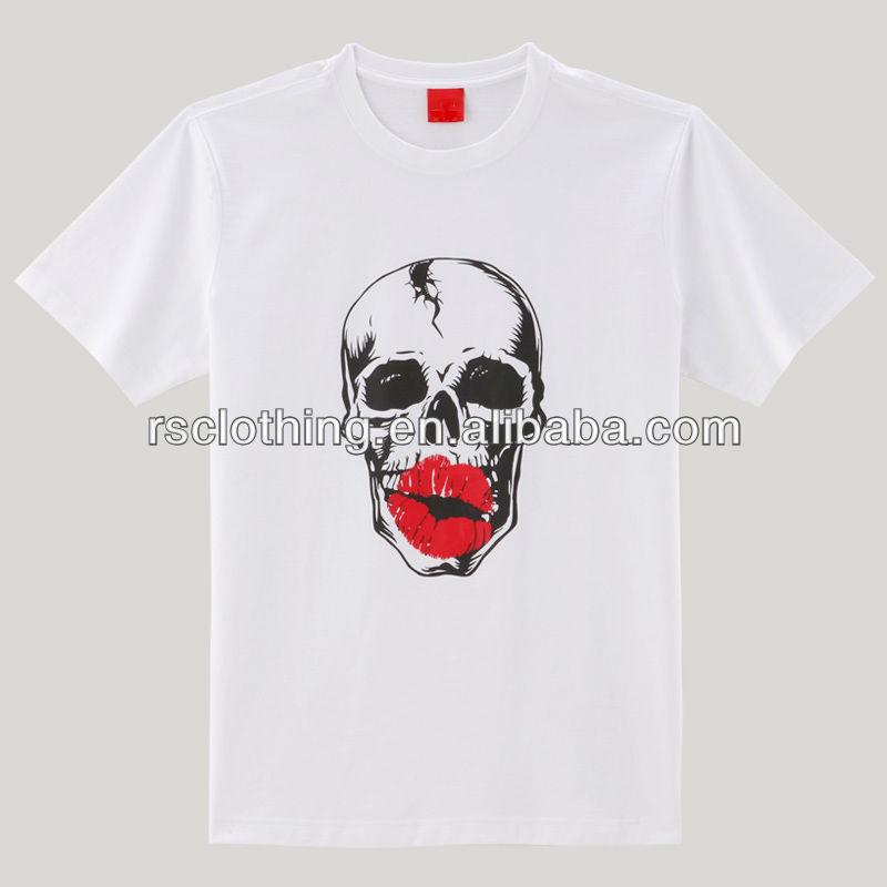 Mens silk screen print t shirt with custom design buy t for Custom silk screen shirts