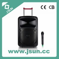 Big Portable Rechargeable Speaker with USB/SD Card/ Bluetooth